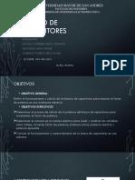 Banco de Capacitores PRIMERA PARTE
