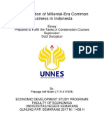 The Development of Business Evolution in Indonesia Tugas Bisnis