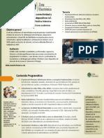 Brochure. Internet, Conectividad y Dispositivos IoT Con Arduino