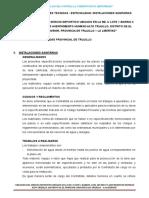3.0 Especificaciones Tecnicas t3- Inst.sanitarias Ok
