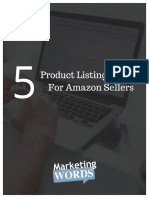 Product Listing Secrets for Amazon Sellers