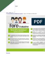 Foro Finanzas Sandra Con Tutor Juan Pablo