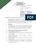 CONSTESTACION DE LA DEMANDA -ALIMENTOS