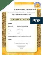 Carátula portafolio alumno, DoE.pdf