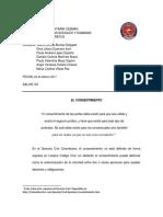 El Consentimiento - Civil Contratos