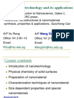 Nanotechnology and its applications