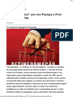 Disinformation, por Ion Pacepa e Prof. Ronald Rychlak.