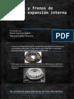 Embragues y frenos de tambor de expansión interna DISEÑO II