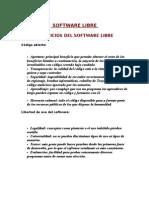 Beneficios Del Software Libre