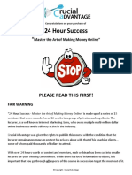 24 Hour Success - Getting Started - READ FIRST