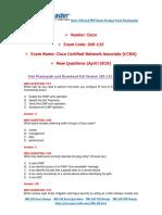 [April-2019] New PassLeader 200-125 Exam Dumps