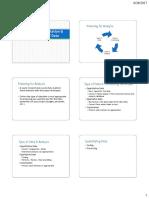 Analysis, Interpretation and Presentation of Data