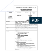 SPO Identifikasi Pasien Rawat Inap dalam Melakukan Tindakan MedisKeperawatan.docx