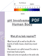 pH Involvement In Human Physiology