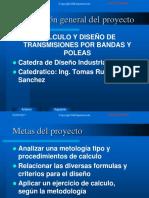 2.- Procedimiento de Calculo y Diseño Transmisiones Por Bandas y Poleas Planas