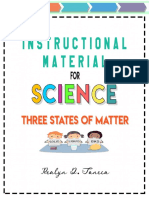 Three States of Matter - Realyn D. Taneca