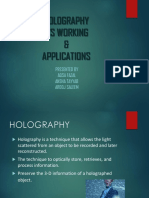 HOLOGRAPHY AND ITS...