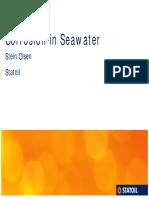 Corrosion in Seawater