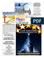COSMO NEWS December 15, 2019 Edition