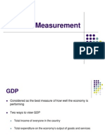 GDP Measurement
