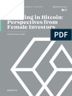 Bitcoin Female Investors