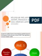 Standar Pelaporan Audit