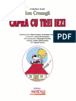 Capra cu trei iezi - Ion Creanga