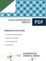 Kuliah Gastroenterologi Semester 5