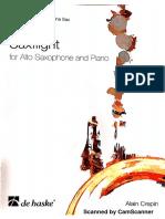 alto saxophone and piano