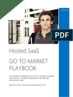 Partner Go-To-Market Playbook Hosted SaaS