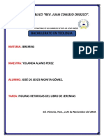 FIGURAS RETORICAS DE JEREMIAS