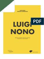 Luigi Nono. Escritos e Entrevistas 2015