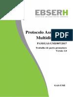 Multidiscipplinar Protocolo