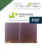 Surge lightning service guide