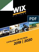 Wix Catalogo Aplicação Filtros Linha Leve e Pesada 2019