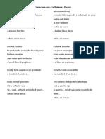 D'onde lieta uscì - La Boheme - Puccini - texto