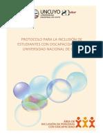 Protocolo UNCuyo 2019