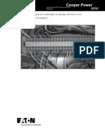 External Application of a Motor Start Capacitor on a Single Phase Voltage Regulator Instructions Mn225063en.en.Es