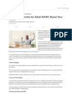 Seven Top Secrets for Adult ADHD_ Boost Your Mood _ Psychology Today