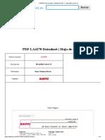 LA4270 Hoja de Datos ( Datasheet PDF ) - Monolithic Linear IC