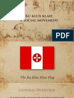 KKK as a social movement