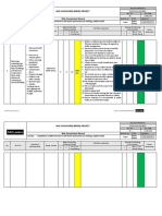 Risk Assessment for MEP Services in P6 Existing Parking