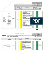 Risk Assessment for Installation of Fire Fighting System