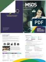 MSDS-Brochure 2019