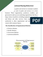 UNIT 3 COBB PIM Organisational Buying