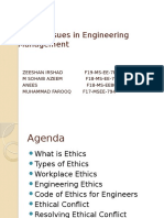 Ethical Issues in Engineering Management