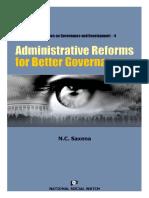 NeeDoc.Net-Administrative Reforms for Better governance