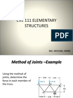 CVE 111 Truss Method of Section