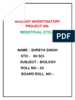 Investigatory project of biology
