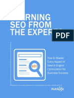 Learning SEO From the Experts - PDF Books